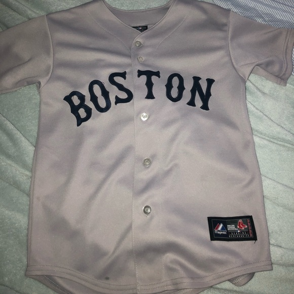 91d3d7d23 Majestic Other - 100% Authentic Boston Red Sox Away Jersey